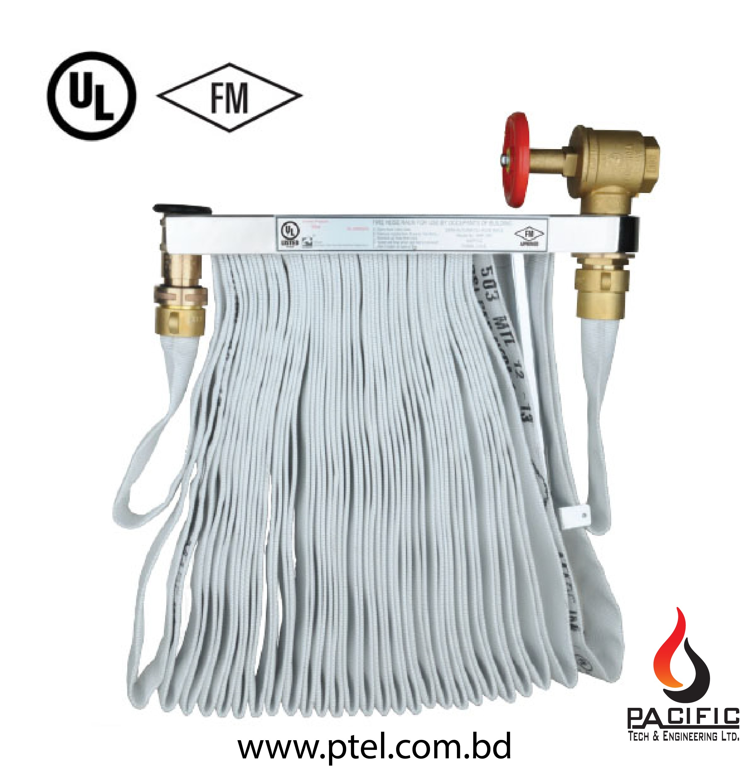 Fire Hydrant Hose Rack