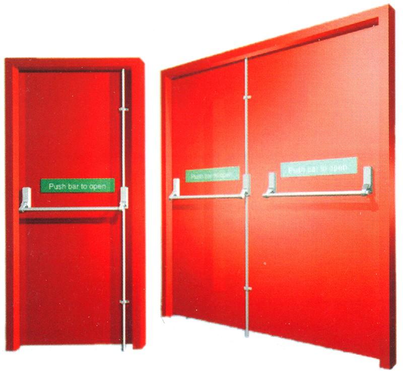 UL Listed Fire Door 001
